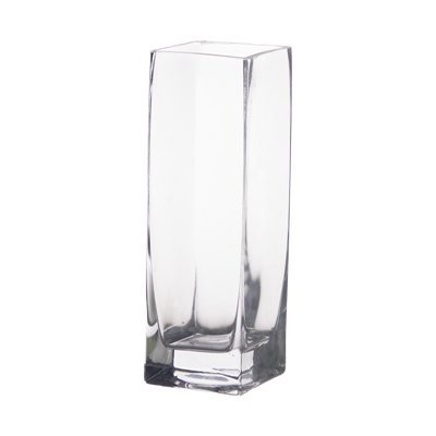 Amazon 8 Glass Square Bud Vases Home Kitchen