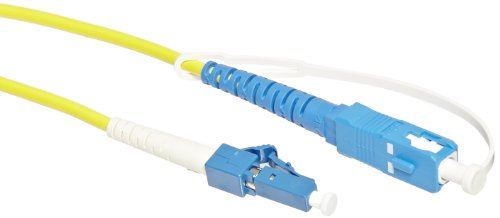 Fluke Networks NFK3-SMPLX-LC Simplex Singlemode Test Reference Cords for LC Adapter, 9 µm, 1 m Cable Length (Set of 2), (SC/LC, LC/LC)