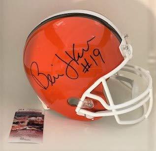 9365d95e Amazon.com: Bernie Kosar Autographed Full Size Cleveland Browns ...