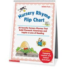 Scholastic Res. Nursery Rhyme Flip Chart - Learning - 15 Width X 20.80 Height