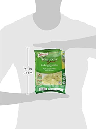 Amazon.com : Knorr Soup du Jour Mix Chicken and Dumpling 22.9 oz, Pack of 4 : Grocery & Gourmet Food