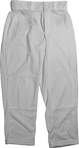 Wilson Youth Classic Relaxed Fit Baseball Pant, Grey, Medium