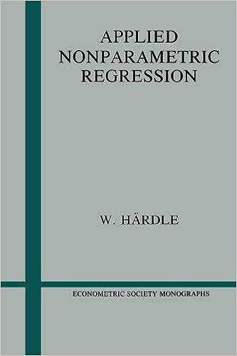 Applied Nonparametric Regression