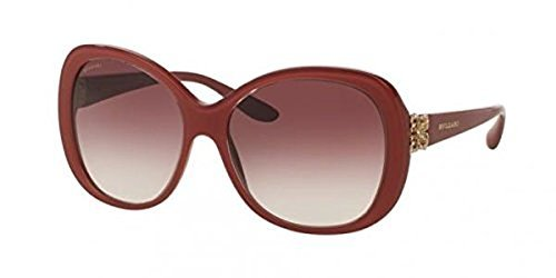 Bvlgari Women's BV8171BF Sunglasses Top Crystal On Raspberry / Violet Gradient - Bulgari Uk