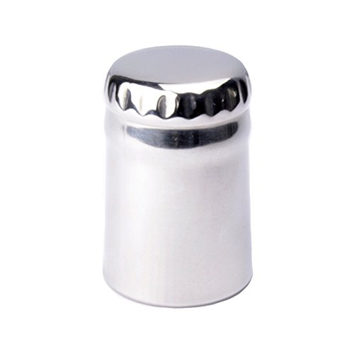 Magnetic Automatic Beer Bottle Opener - 304 Stainless Steel Bottle Shape Popper Cap Catcher Push Down Pop Top Bottle Opener (1 Pack) ()