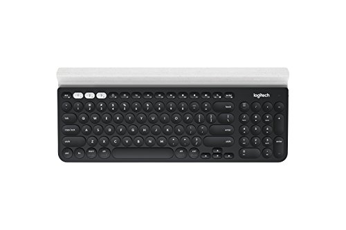 Logitech K780 Multi-Device Wireless Keyboard for Computer, Phone and Tablet - Logitech FLOW Cross-Computer Control Compatible - Speckles
