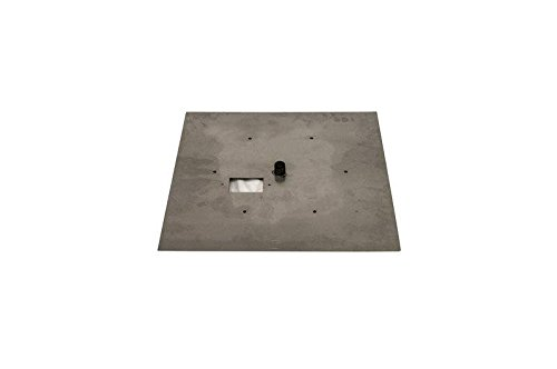 Hearth Products Controls (HPC Fire Pit Burner Pan (571-24SQ), Flat Square, 24-Inch