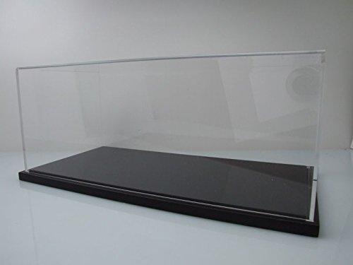 Klarsichtbox Vitrine schwarz für 1:12 Modellautos / GT Spirit