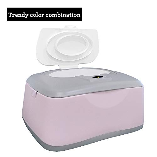 31QAf4jDM%2BL - Baby Wet Wipe Warmer, Dispenser, Holder And Case - With Easy Press On/Off Switch, Only Available At Amazon