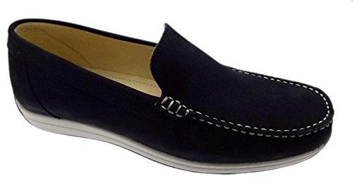 Loafer Nubuck art classique bleu MURRAY