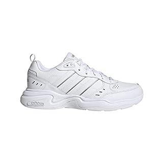 adidas Men's Strutter Sneaker, FTWR White/FTWR White/Matte Silver, 8.5