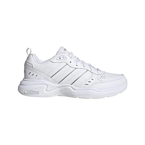 adidas Men's Strutter Sneaker, FTWR White/FTWR White/Matte Silver, 13 M US