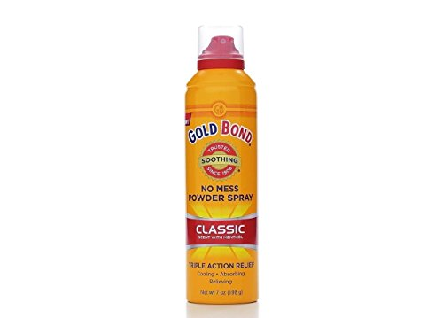 Gold Bond No Mess Powder Spray Classic Scent 7 Oz (3 Pack)