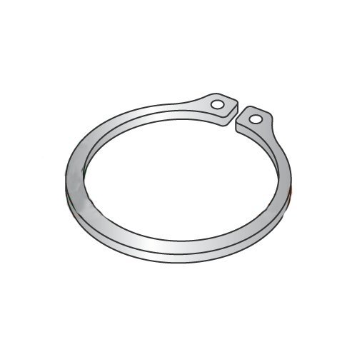 500pcs .140 Rings E-Ring Stainless Steel