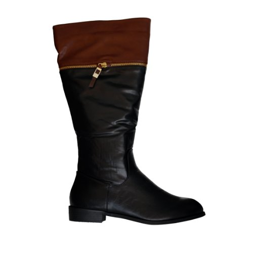 """Waooh - Fashion - Boots """"The Divine Factory"""" TDF627 Simili Leder"""