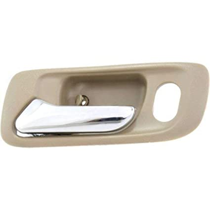 For Honda Accord Coupe 98-02 Front Inner Beige Door Handle Lh Driver Side