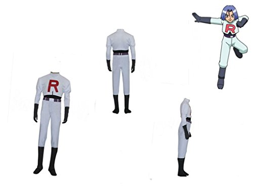 Mister Bear Pokemon Team Rocket James Cosplay Costume]()