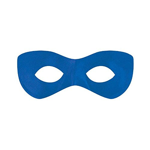 Captain Leister Mask - Amscan Super Hero Mask, Party Accessory,