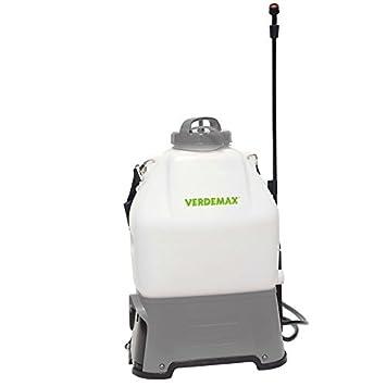 Verdemax - Mochila Pulverizar Electrica 16L. Bateria De Litio: Amazon.es: Jardín