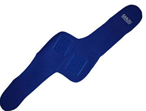 Sports Outdoor Polyester Fibers Elastic Elbow Support Brace Pad Blue by ShopIdea by ShopIdea