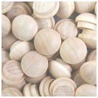 WIDGETCO 3/8'' Maple Button Top Wood Plugs