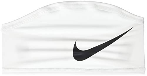 Nike NHK58101OS Pro Dri-Fit Skull Wrap 4.0, White/Black, One Size Fits Most (Bands Nike Football)