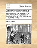 The British Customs, Henry Saxby, 1140871412