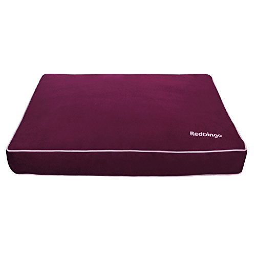 Red Dingo Pet Bed Mattress, Large, Purple