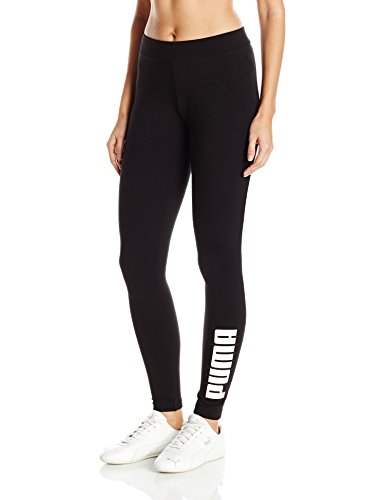 PUMA Women's Archive Logo T7 Leggings, Cotton Black, M - Puma Tights