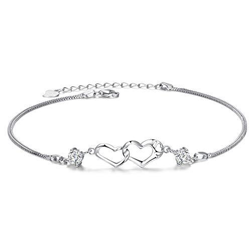 EVERU Sterling Silver Heart...