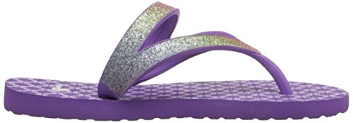 Sanuk Kids Lil Mollie Prints Laced Shoe (Toddler/Little Kid/Big Kid) Rainbow/Hot Orchid