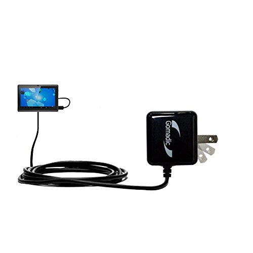 Gomadic High Output Home Wall AC Charger designed for the Worryfree Gadgets ZeePad with Power Sleep technology - Intelligently designed with Gomadic TipExchange by Gomadic