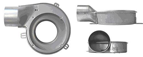 Extractor de humos, estufa, pellet, ventilador + encoder universal, 40 W d.80 Clase H.: Amazon.es: Hogar