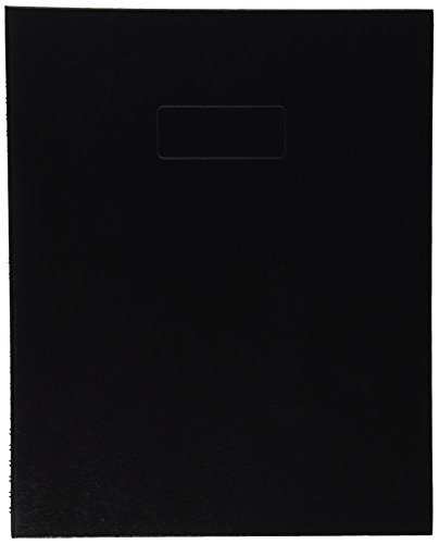 "Price comparison product image BLUELINE NotePro Notebook,  Black,  11 x 8.5"",  150 Pages (A10150.BLK)"