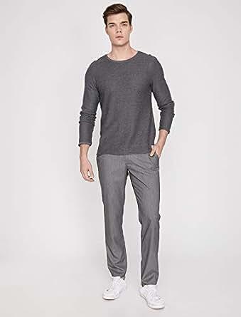 Koton Erkek Pantolon gri (gri̇ desenli̇ 04f) W100 (Üretici ölçüsü: 48)