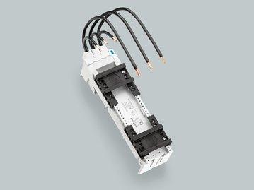 32598 - Adapter EEC 80 A, 2 verschiebbare Tragschienen