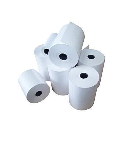 20 Rolls of 57 x 50mm Thermal Paper Credit Card Machine Chip & Pin PDQ Till Rolls 57x50mm - 20 Rolls Prinktoner