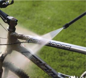 お子様の自転車、泥汚れにも