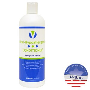 Vital-Hypoallergenic ConditionerTM for Dogs, Cats & Horses 16 Fl Oz.