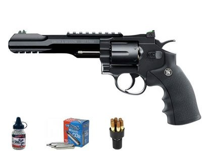 Smith & Wesson S&W Dominant Trait (TRR8) air pistol (Smith And Wesson 327 Trr8 Bb Gun)