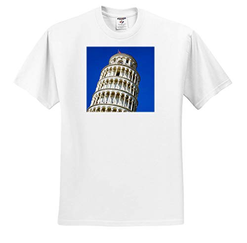 3dRose Danita Delimont - Tuscany - The Leaning Tower of Pisa, Pisa, Tuscany, Italy - Toddler T-Shirt (2T) (ts_313745_15) White