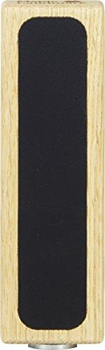 Straight 5'' Solid Red Oak Chalkboard Tap Handle