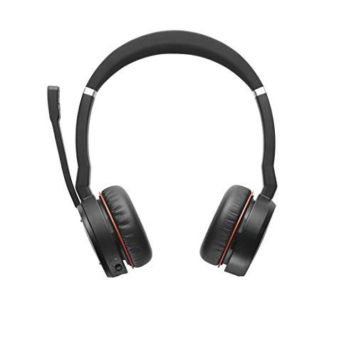 Circumaural Stereo Headset - GN Netcom Jabra EVOLVE HSC040W Wireless Bluetooth 40 mm Stereo Headset - Over-the-head - Circumaural - 30.5 m