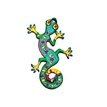Lizard Gekko Salamander Retro Hippie Hippy Boho 70s Appliques Hat Cap Polo Backpack Clothing Jacket Shirt DIY ... Iron on Patch Great Gift for Men and woman by KLB TRADE by Patch By KLB