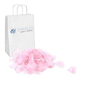 Sparkles Make It Special 900-pcs Rose Petals Faux Silk Flower Pink 54