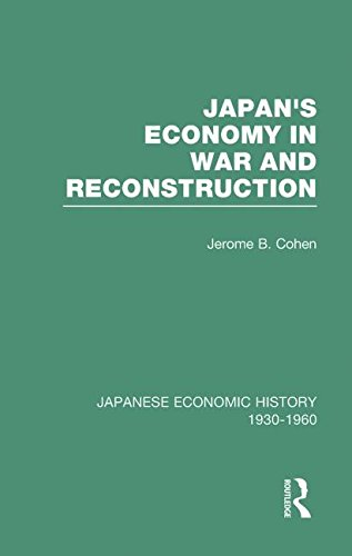 Japans Econ War&Reconstrct V 2 (Japanese Economic History, 1930-1960)