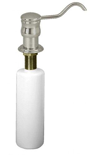 - Westbrass Dynasty Kitchen Sink Soap/Lotion Dispenser, Satin Nickel, D2172-07