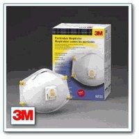 3M 8511 Particulate Respirator Efficiency