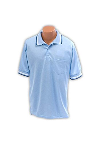 Athletic Connection Umpire Shirt AM in Light Blue (Large) ()
