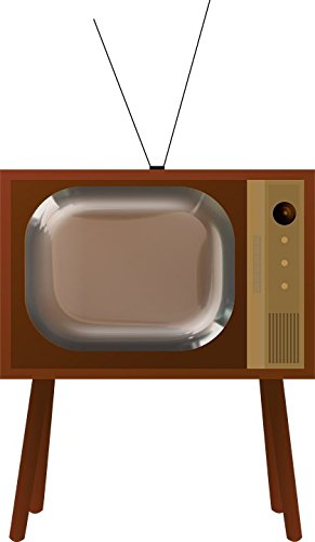 LAMINATED 24x41 Poster: Retro Antique Television Tv Vintage Old Household Picture Old-Fashioned Historic History Revival Fifties View Viewing Program Home Furniture Electronic Aerial